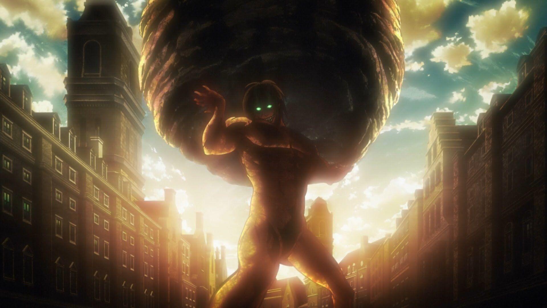 Anime Attack On Titan Eren Yeager 1080p Wallpaper Hdwallpaper Desktop Attack On Titan Aesthetic Attack On Titan English Attack On Titan Anime