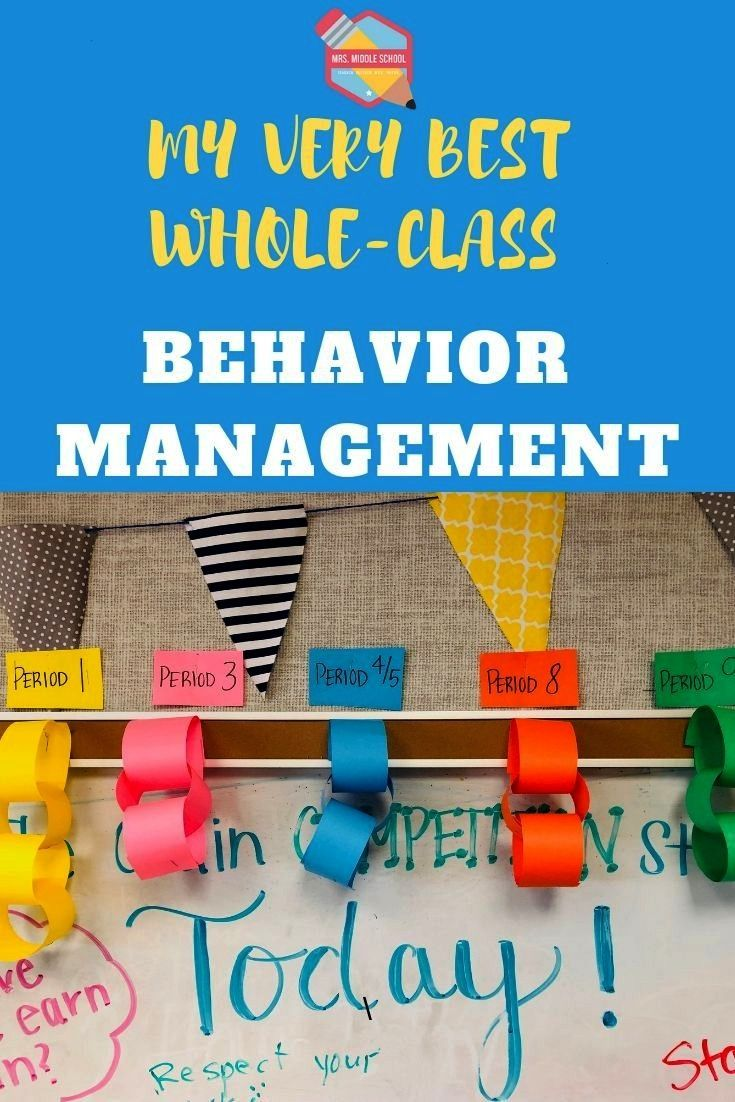 is my very best whole-class behavior management system for the middle school classroom! | Behavior