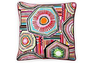 wow!! 20x20 Native Pillow, Multi