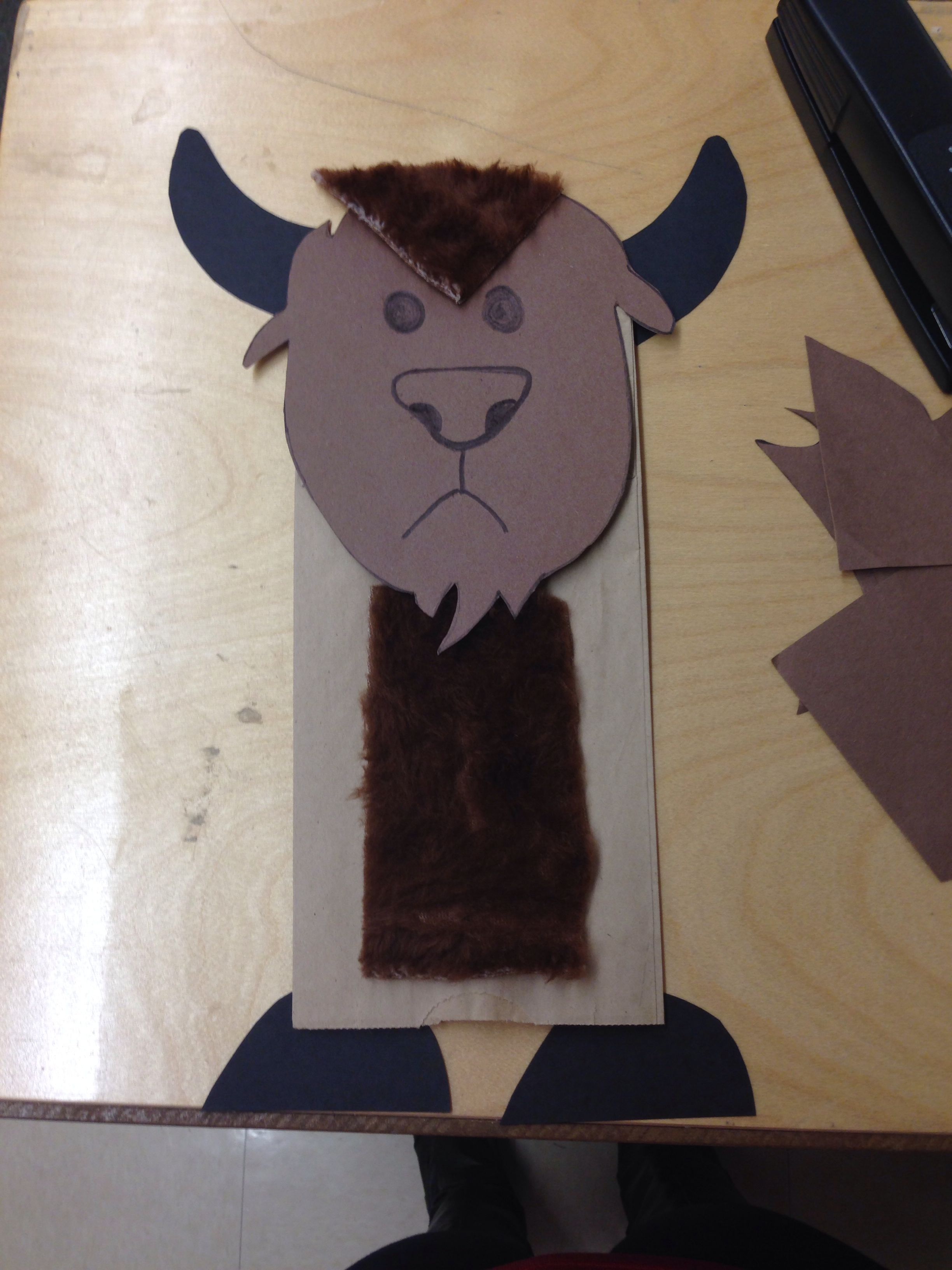 Buffalo Craft I Did With My Kinders Today