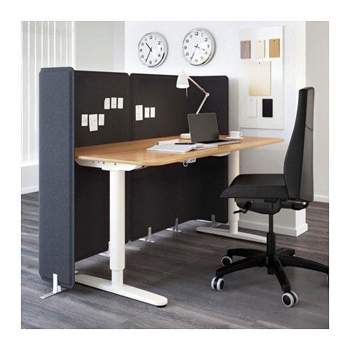 Bekant Screen For Desk 47 1 4 Ikea