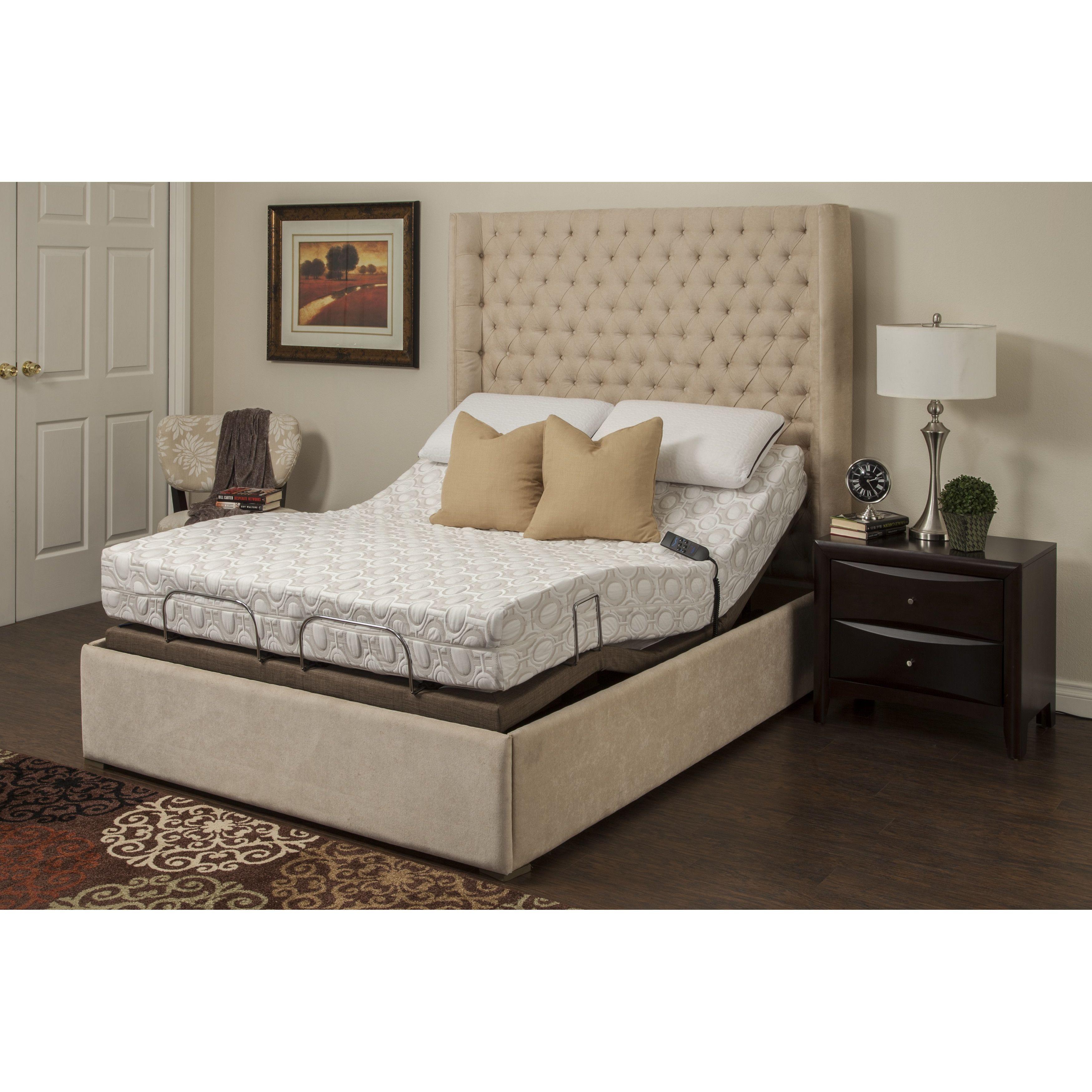 Avante Adjustable Bed Base Adjustable beds, Foam