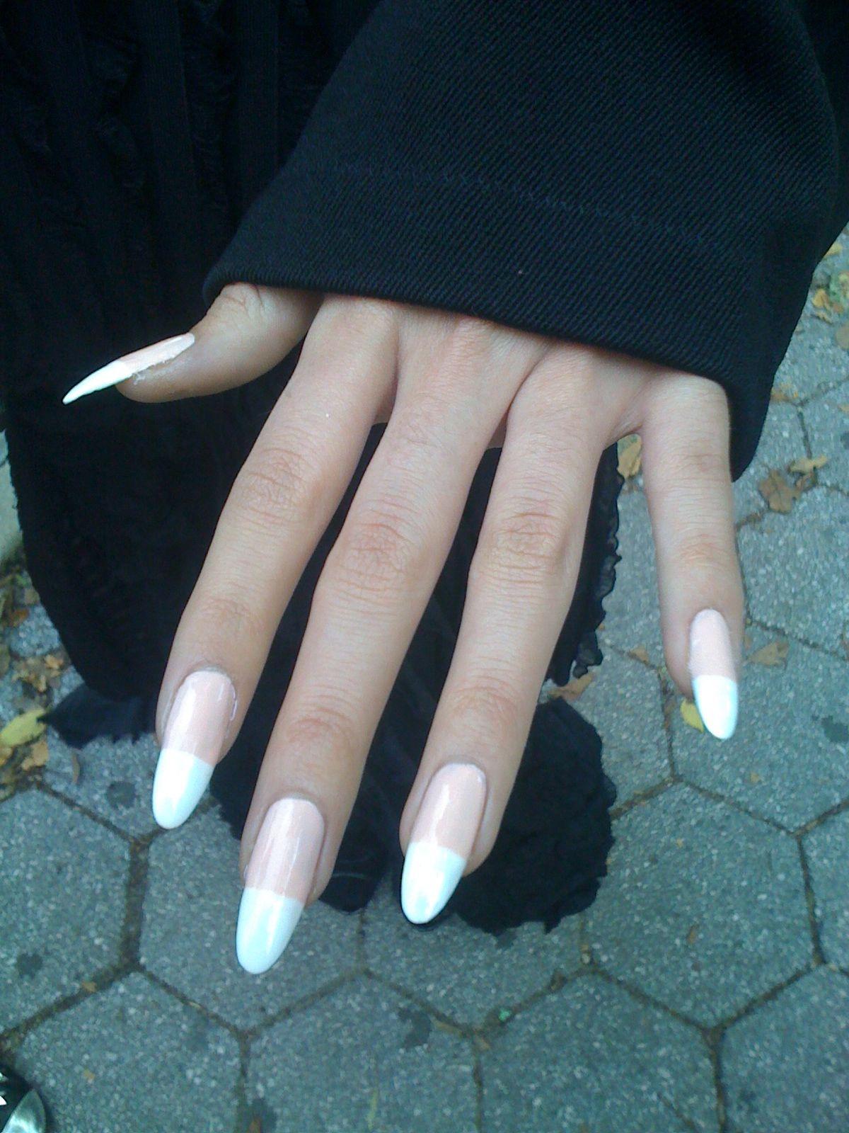 Nail style :Vixen French Cream Nail Art Essie Nail Polish ...