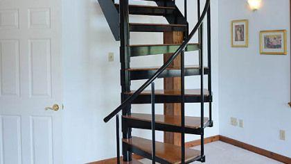 Half Spiral Staircase.
