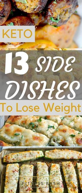 13 Easy Low carb Keto Side Dishes to GO along with any Meal images