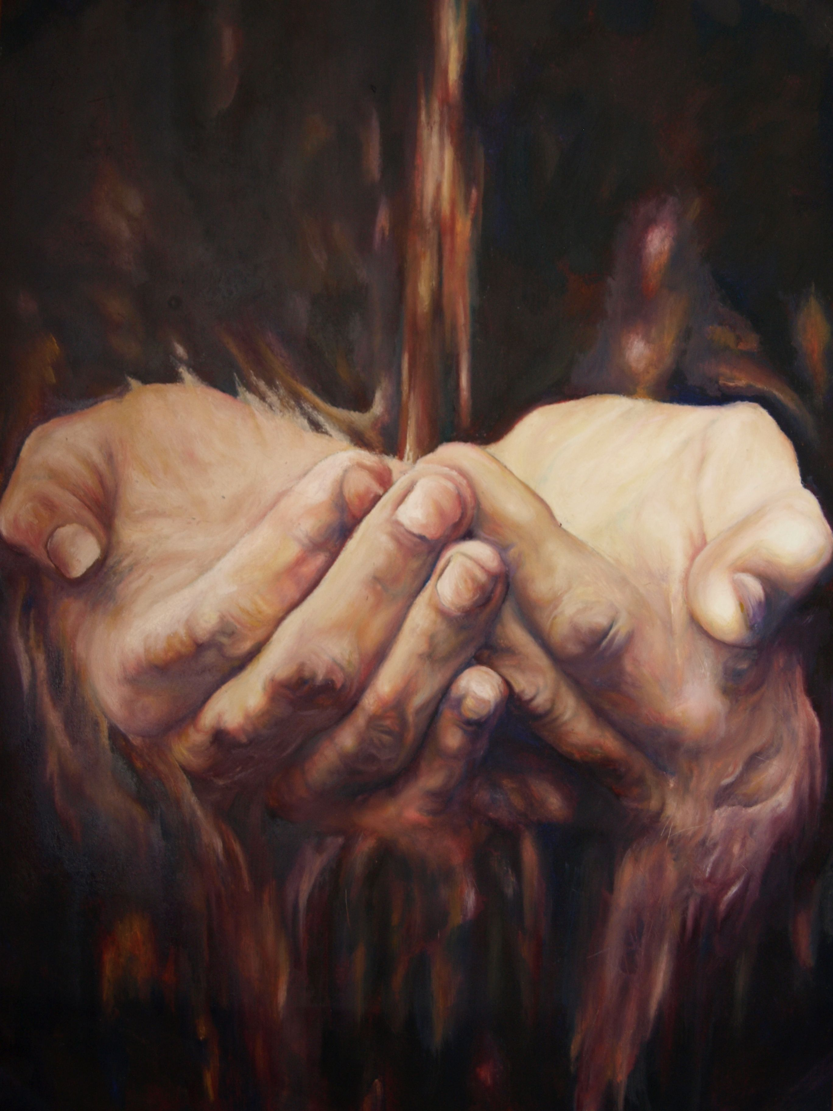paintings of hands - Google Search | Art techniques, Painting, Artist inspiration