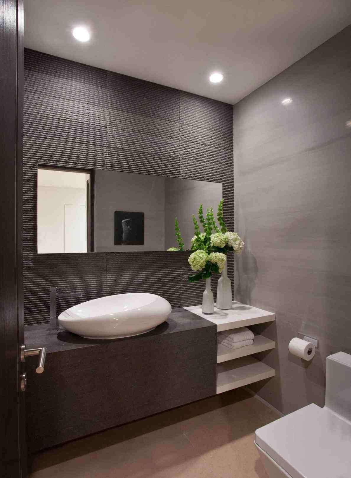 New Post Modern Half Bathroom Decor Visit Bobayule Trending Decors