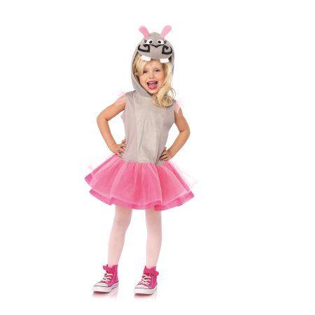 Leg Avenue Madagascar Gloria The Hippo Child Halloween Costume, Size - kid halloween costume ideas