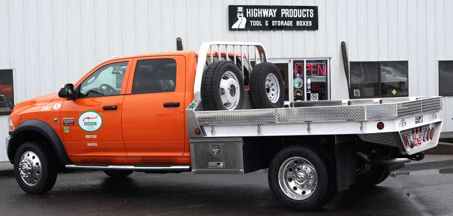 Aluminum Truck Flatbeds And Stake Bodies Built By Highway