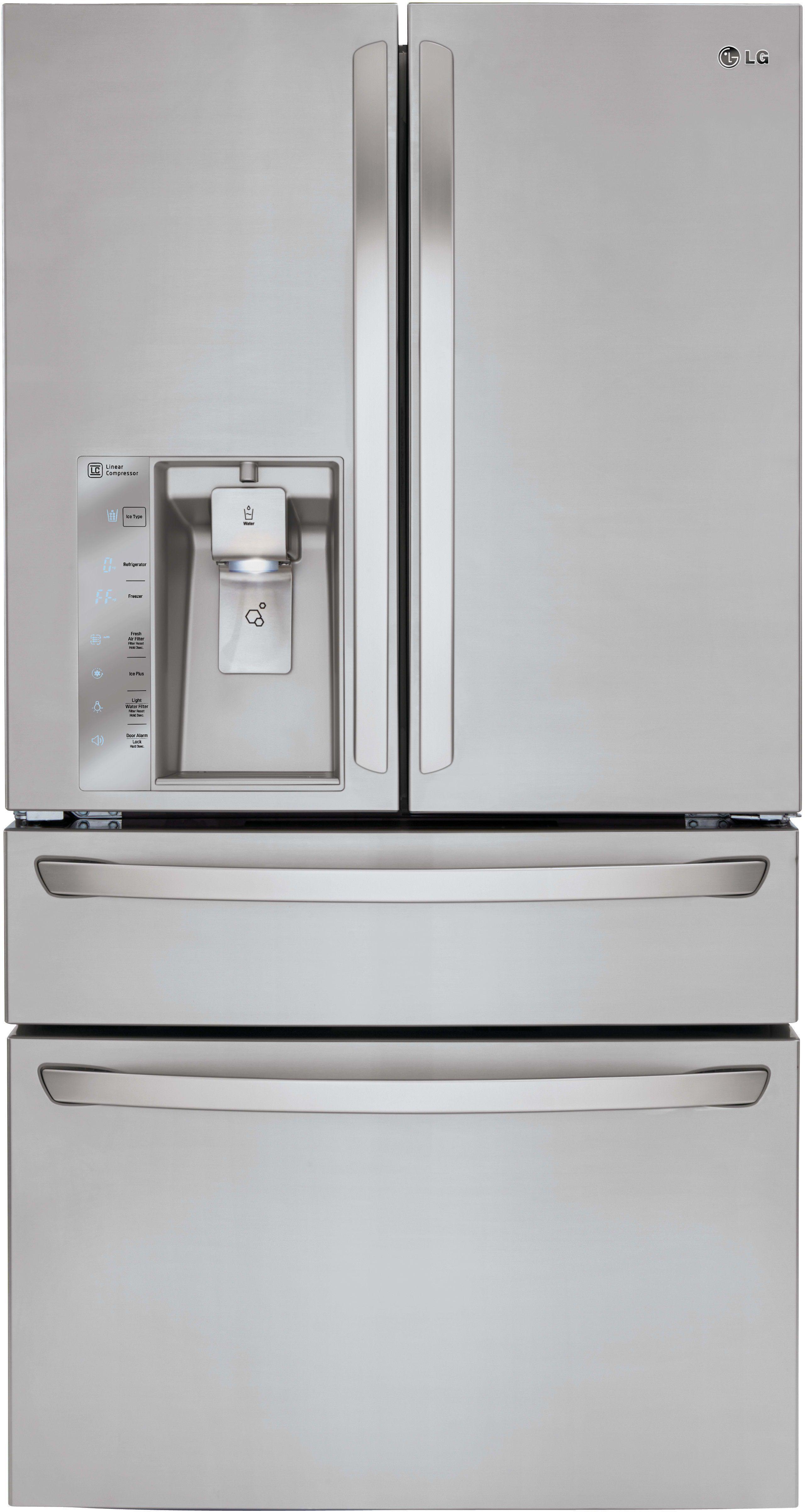 Lg Lmxc23746s 36 Inch Counter Depth 4 Door French Door Counter
