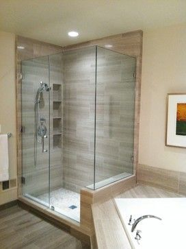 shower tile layout design ideas vertical niche on fixture wall glass doors curb and - Bathroom Tile Layout Designs