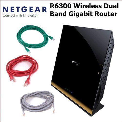Netgear R6300 WiFi Router: 802 11ac Dual Band Gigabit Router +