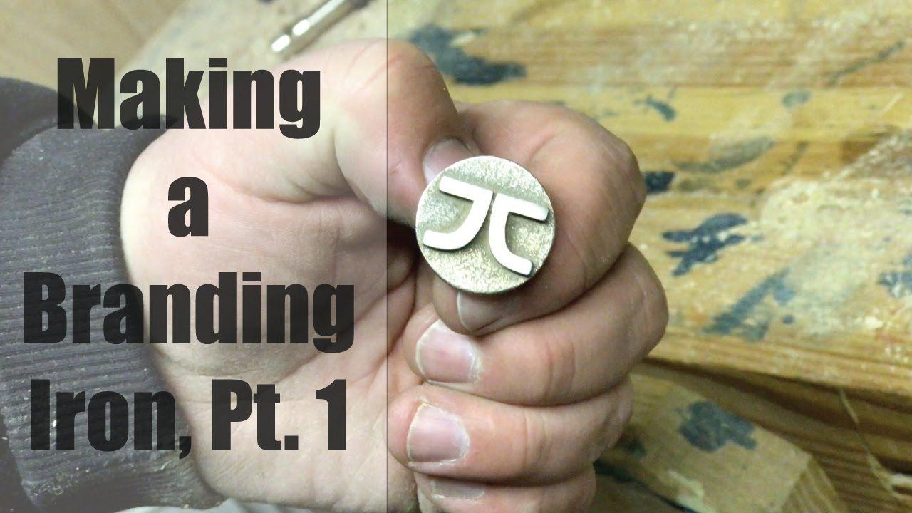 Making a branding iron part 1 the stamp branding iron