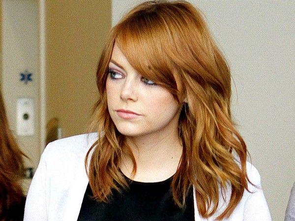 57 Medium Length Hairstyles For Women With All Hair Types Mid Length Hair Hair Styles Emma Stone Hair