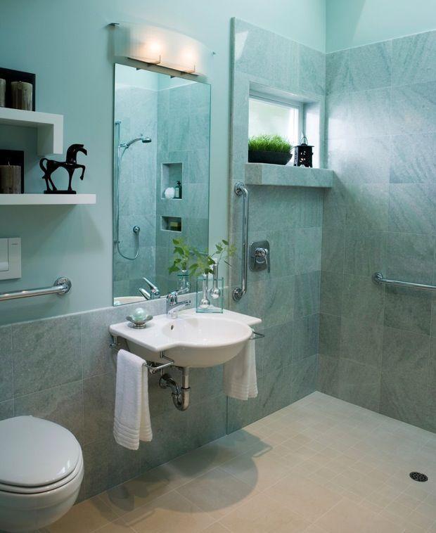 Small Bathroom Design Elderly guest blogger: designing a safe bathroom for seniors | tile