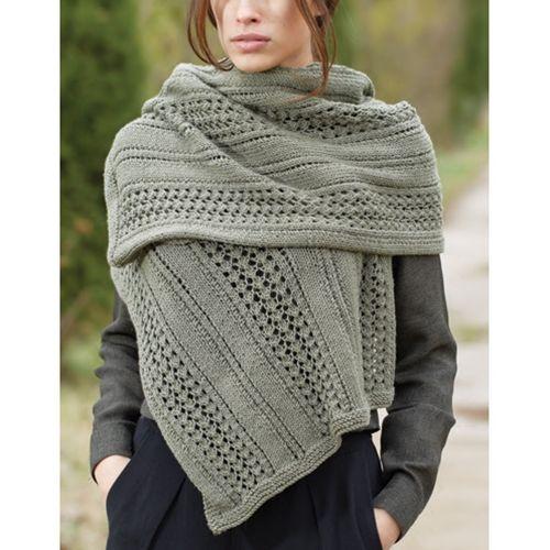 Mesh Effect Scarf Free Vogue Knitting Pattern Knit Pinterest