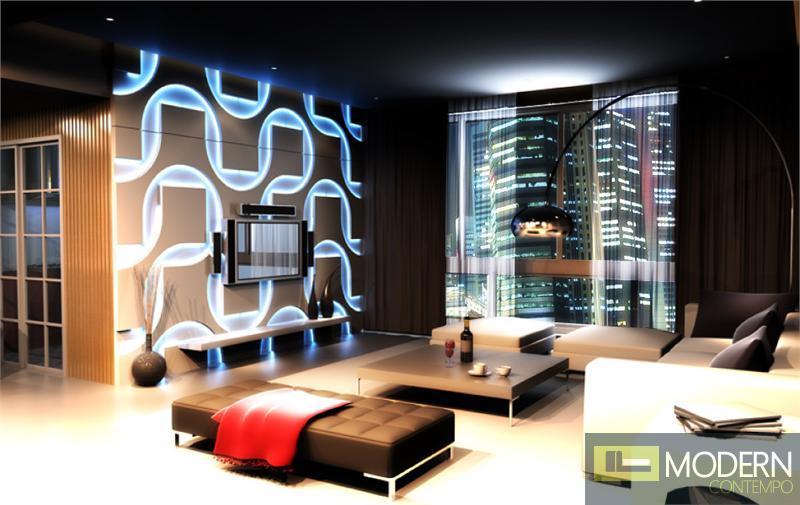 Modern Design Led Lit 3d Wall Panel Led 3dwalldecor Led 3dboard Led 3d Wall Panel Wall Paneling Decorative Wall Panels House Interior