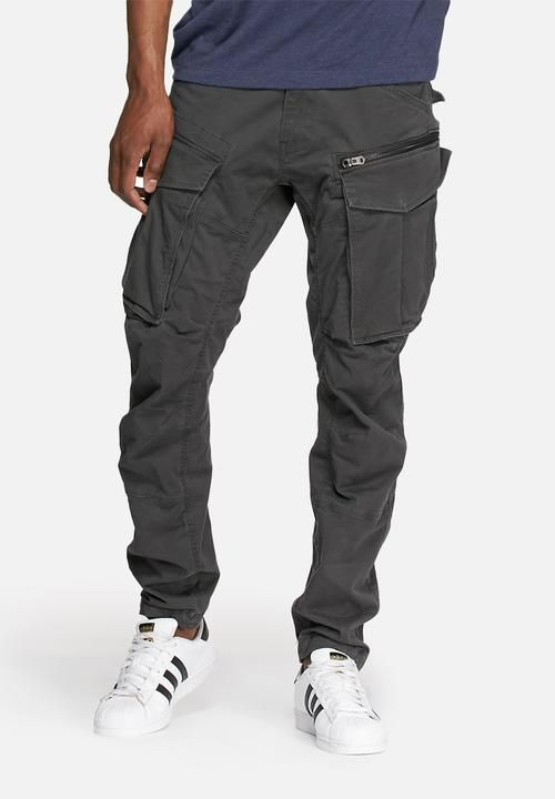 eb49d8a287d Rovic zip 3D tapered -raven in 2019 | Mens | Pants, Cargo pants men ...