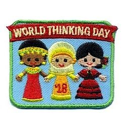 World Thinking Day Girls 2018. Our colorful World Thinking Day