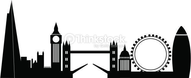 London City Skyline London Skyline Silhouette City Skyline Silhouette London Skyline Tattoo