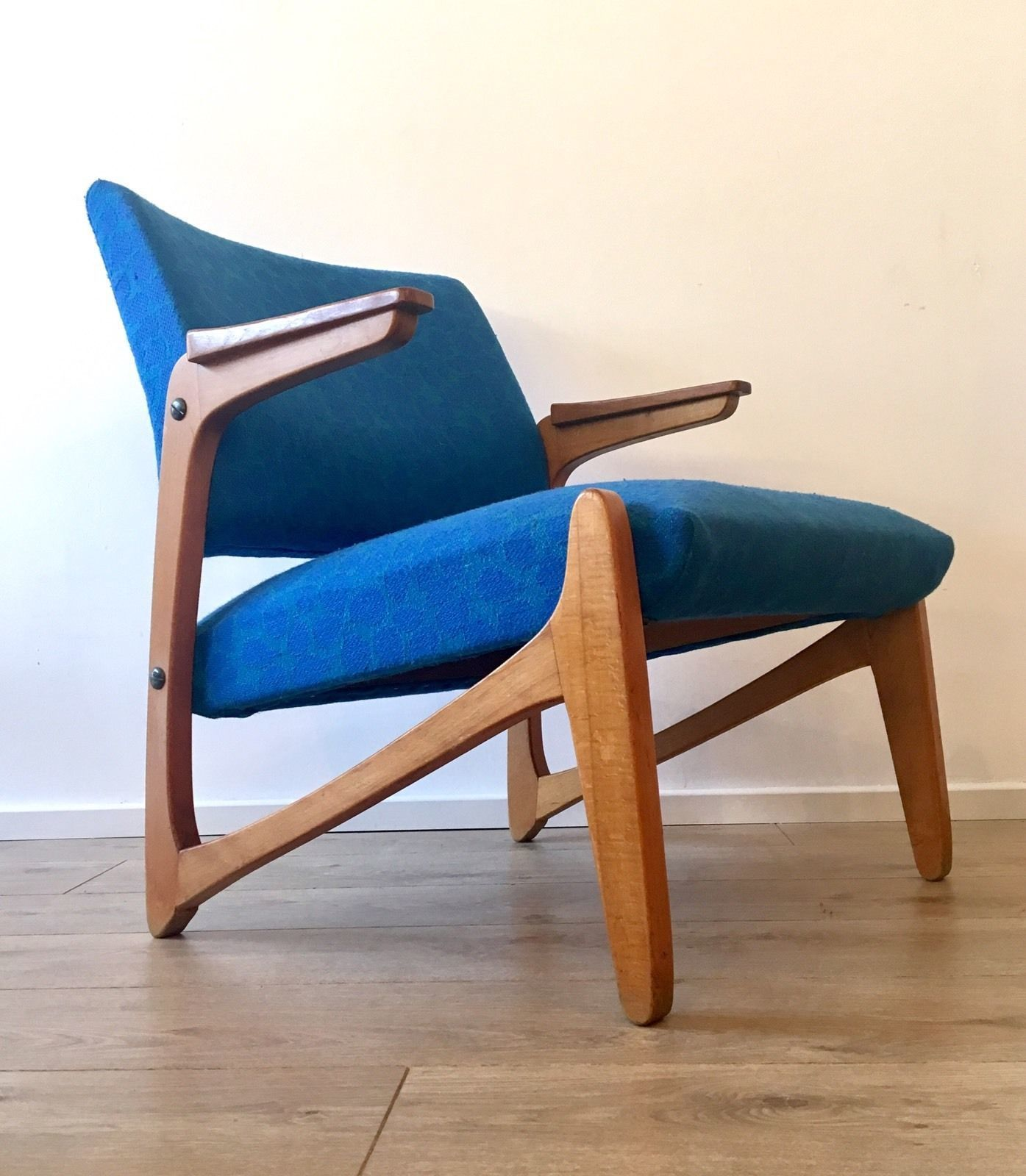 Mid Century Scandinavian Vintage Armchair Lounge Chair