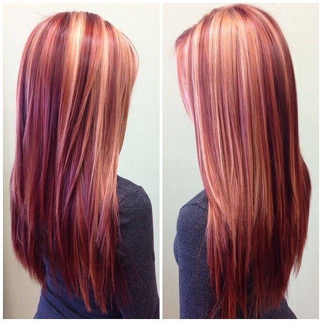 Beautiful Blonde And Bold Reds Paulmitchell
