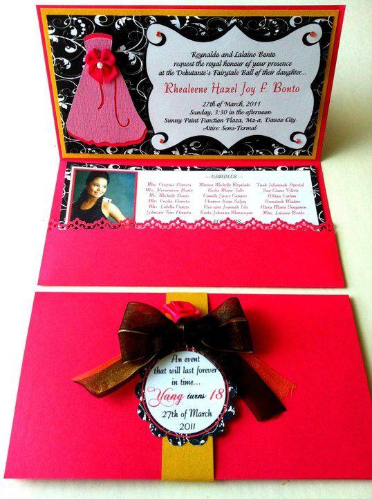 18th birthday invites invitations