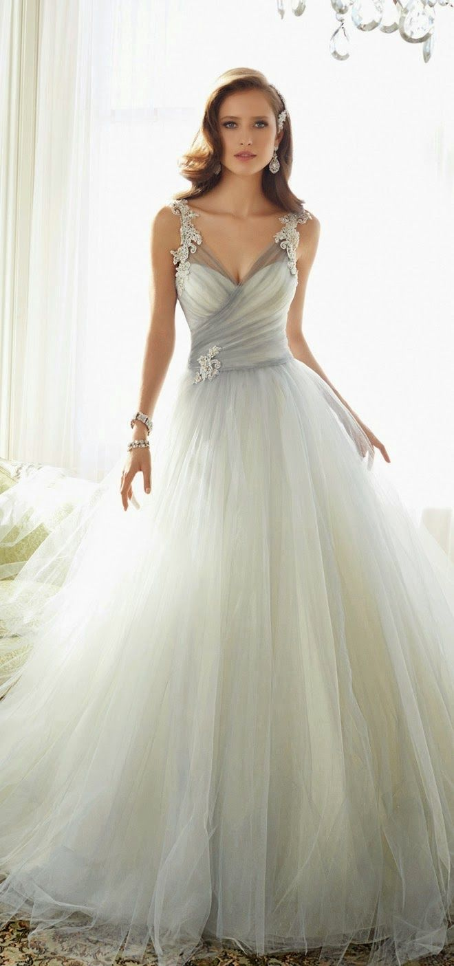 Best wedding dresses of dusty blue wedding dress and weddings