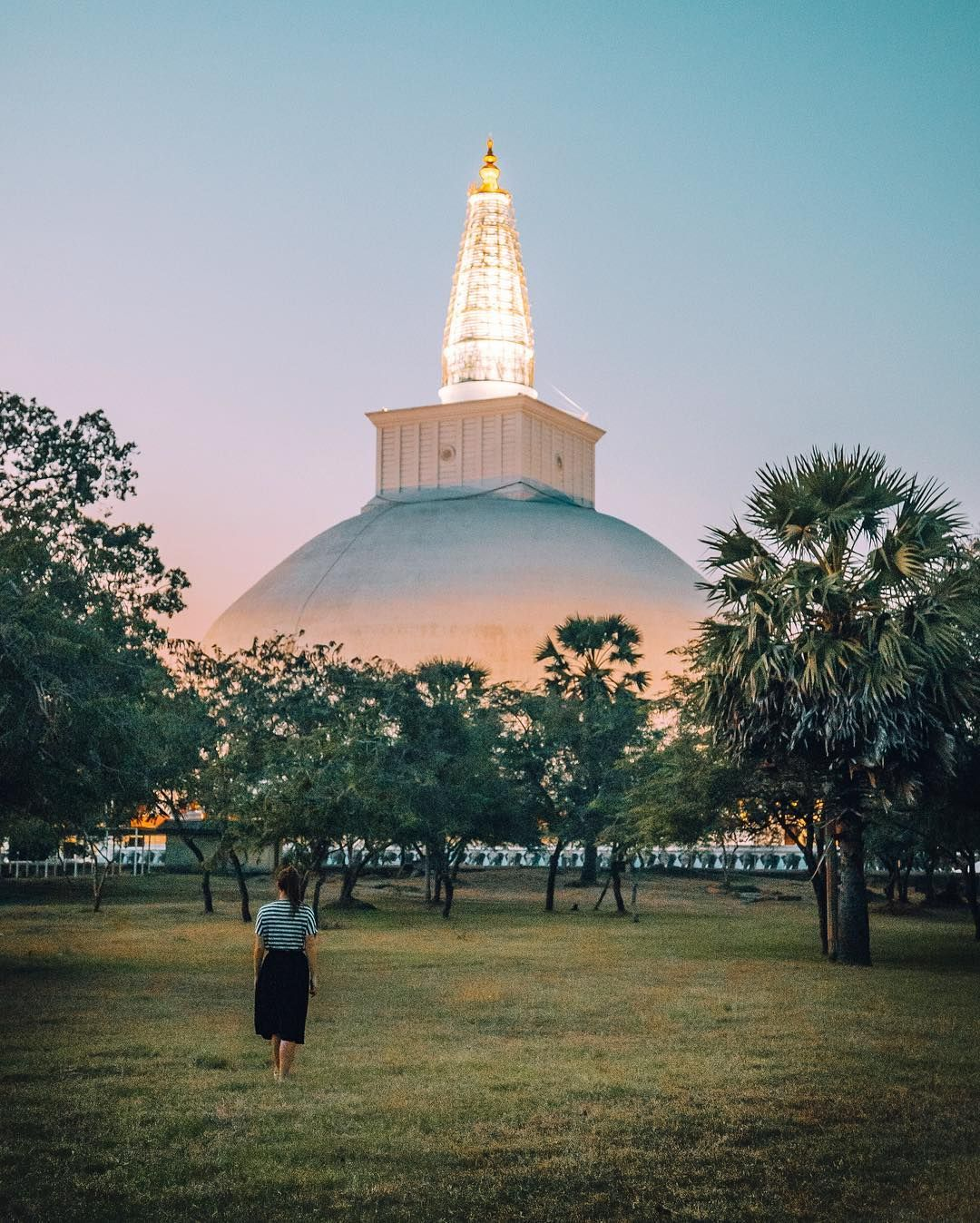 Anuradhapura, Sri Lanka  #srilanka #visitsrilanka #anuradhapura #createexplore #exploretocreate #lightroom #agameoftones #landscape_captures #artofvisuals #global_hotshotz #wonderlust #awesomeearth #beautifuldestinations #animalphotography #roamtheplanet  📸 mx.jack