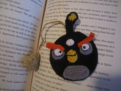 TsiSiskot: Angry Birds kirjanmerkki