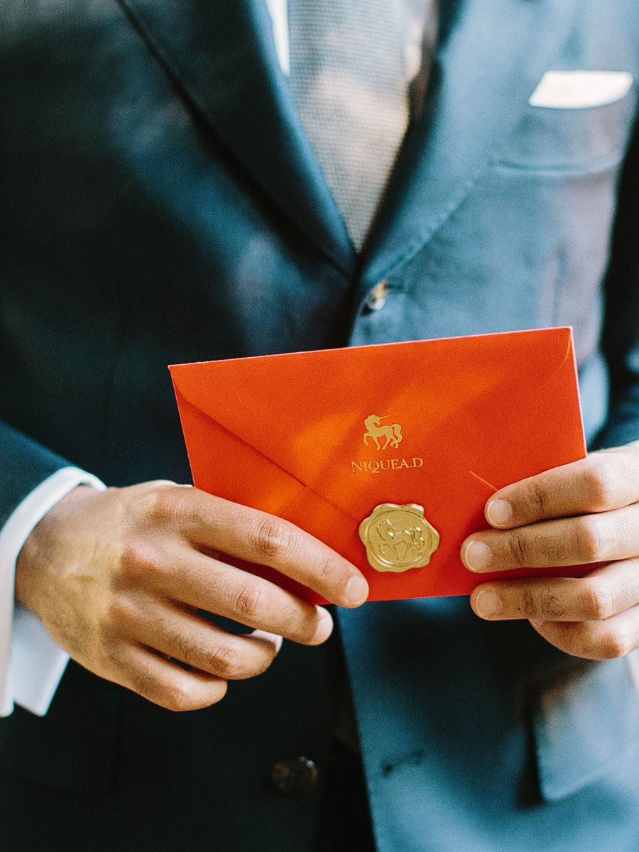 Red Envelope With Gold Wax Seal | Pinterest | Wax seals and Envelopes
