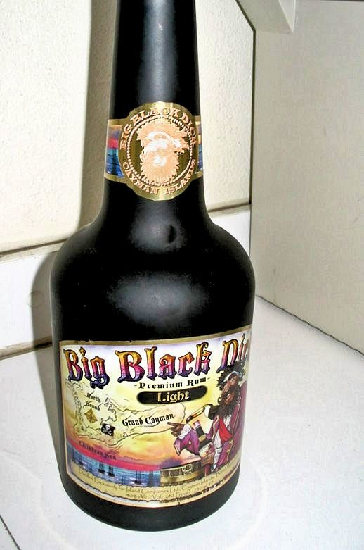 Big Black Dick Chocolate Rum