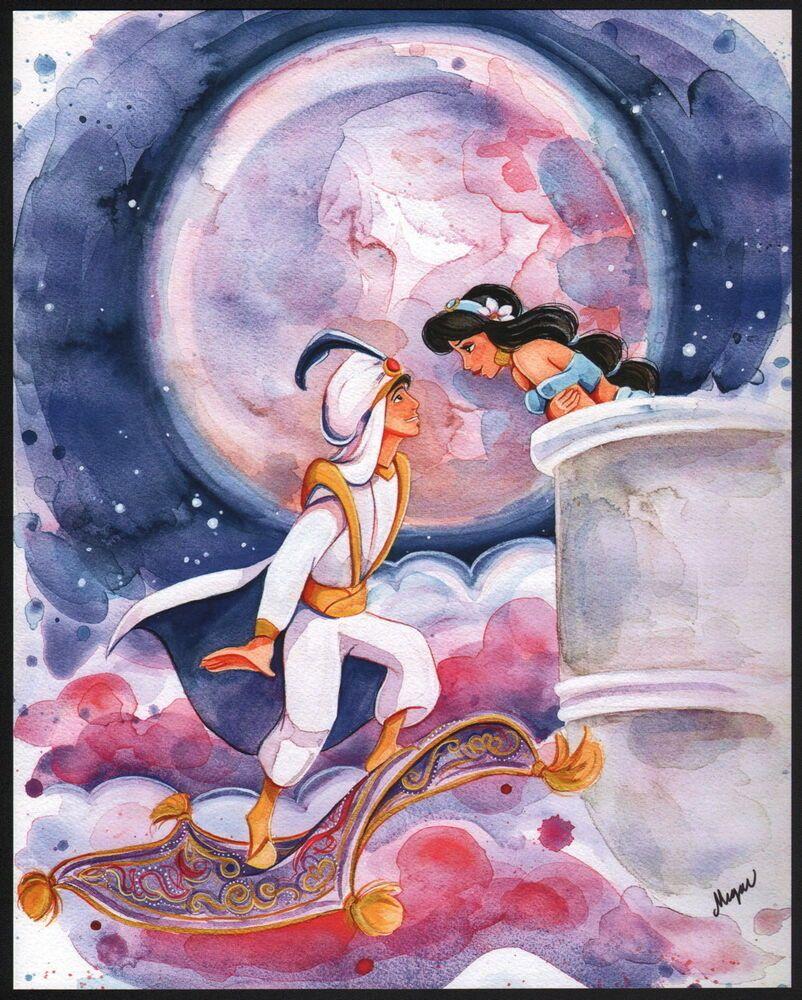 Um jovem humilde descobre uma lâmpada mágica, com um gênio que pode lhe conceder desejos. Agora o rapaz quer conquistar a moça por quem se apaixonou, mas o que ele não sabe é que a jovem é uma princesa que está prestes a se noivar. Agora, com a ajuda do gênio, ele tenta se passar por um príncipe para conquistar o amor da moça e a confiança de seu pai.  #Aladdin #disney #Jasmine #UmMundoIdeal #AWholeNewWorld