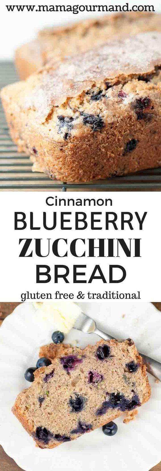 Blueberry Zucchini Bread | Recipe | Best bread recipe ...