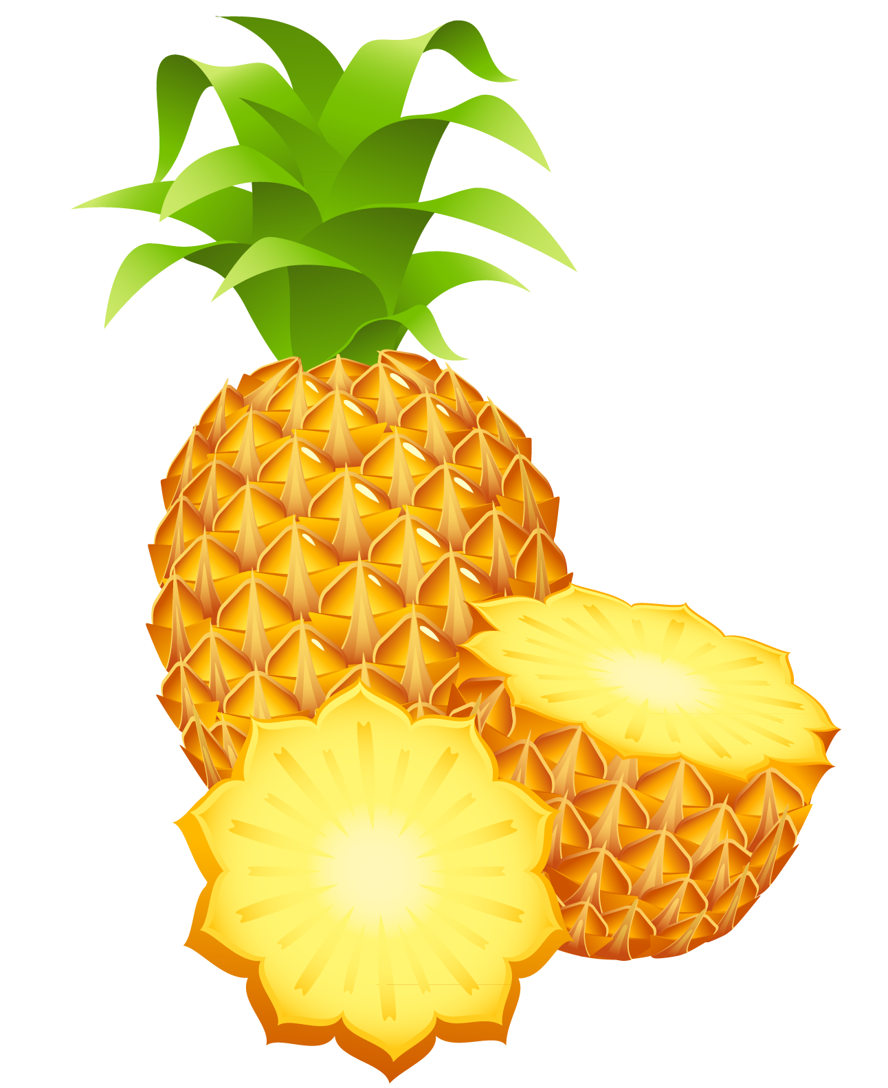 Pinapple Clipart Png Image Pineapple Fruit Clip Art