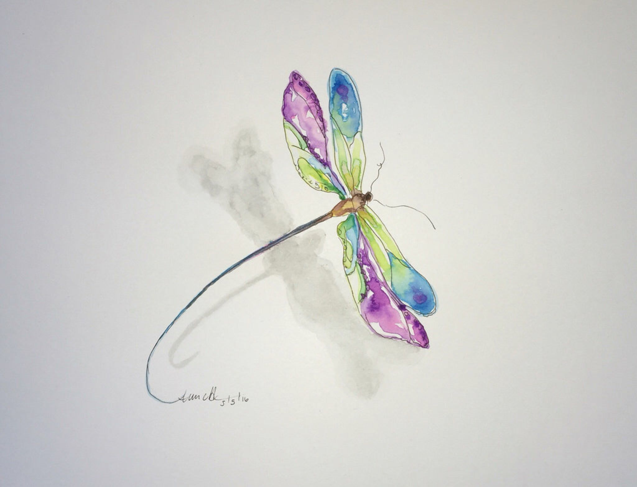 Dragonfly By 8annett8 On Deviantart Dragonfly Tattoo Design