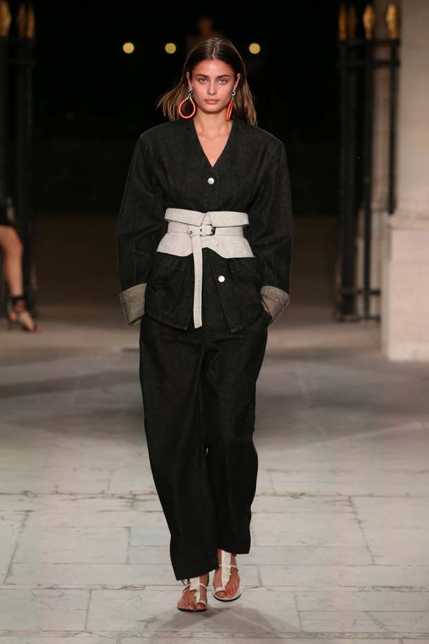 See Every Look From Isabel Marant's Feminine, Cool Catwalk via @WhoWhatWear