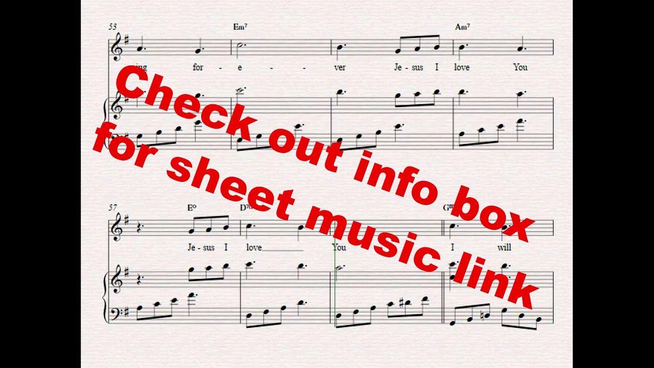 Beautiful Savior Piano Music Planetshakers Sheetmusic