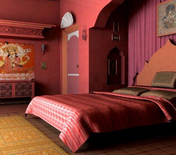bedroom room modern obj | Indian inspired bedroom, Indian ...
