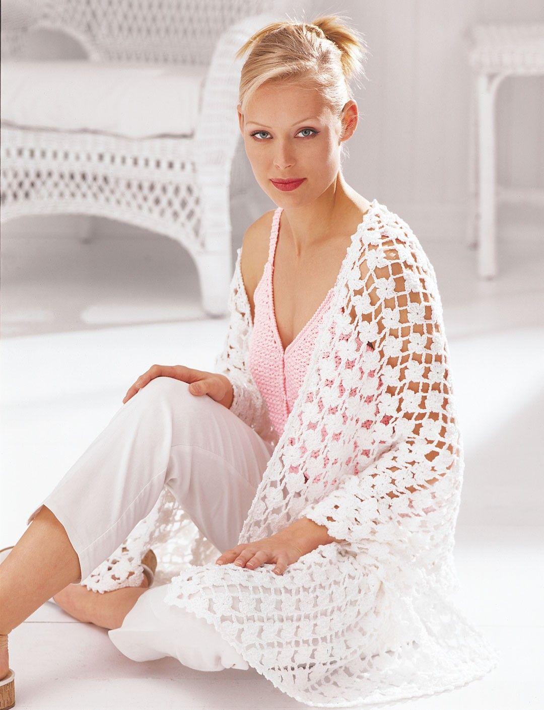 Yarnspirations.com - Patons Floral Shawl - Patterns | Yarnspirations ...