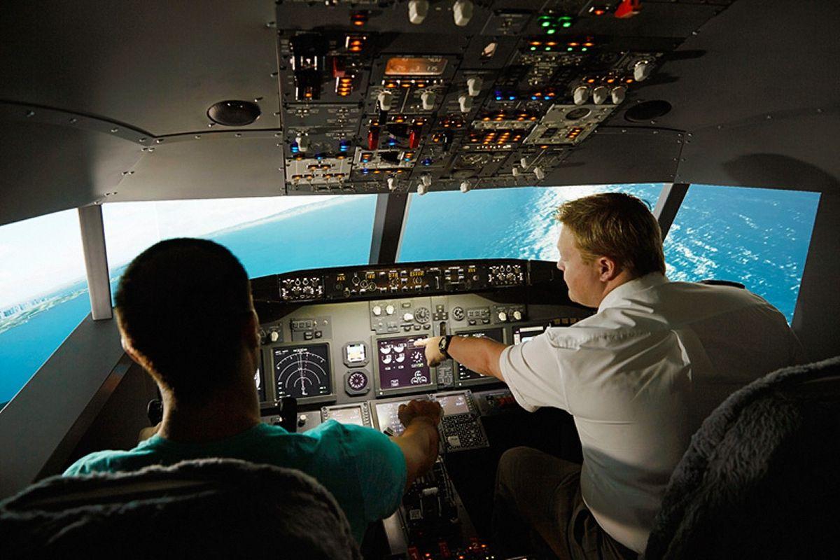 737 Flight Simulator Experience, 60 Minutes Alexandria