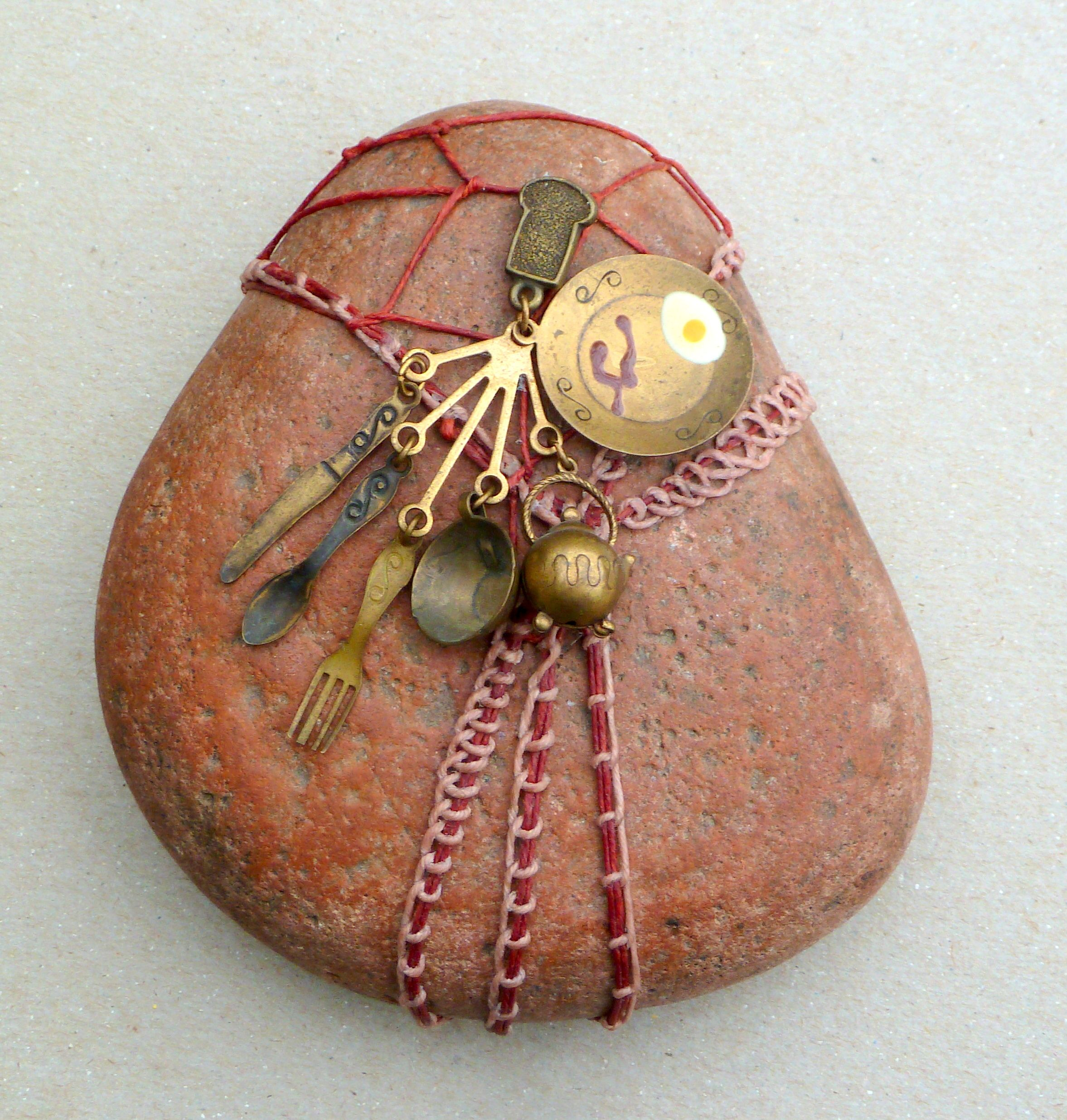 Pin By Wind Dancer Creations On Woven Rock Art Collection