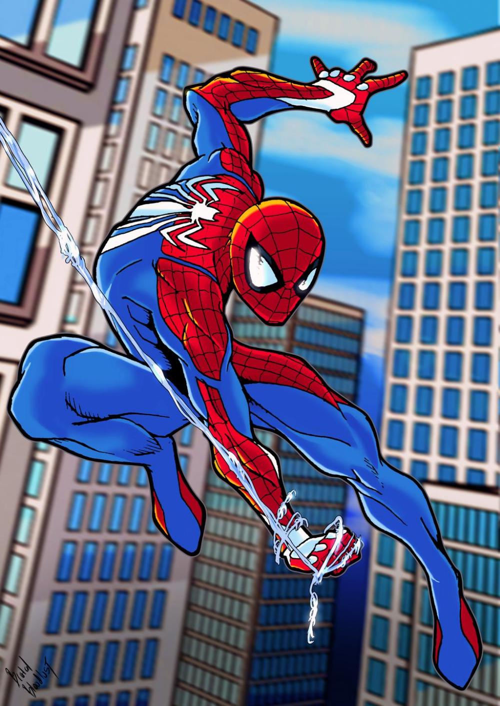 Spider Man PS4 by BrutalBloodlust on DeviantArt