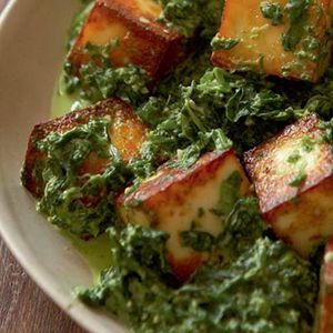 Vegetarian saag paneer sandhira khana khazana indian recipes vegetarian saag paneer sandhira khana khazana forumfinder Gallery