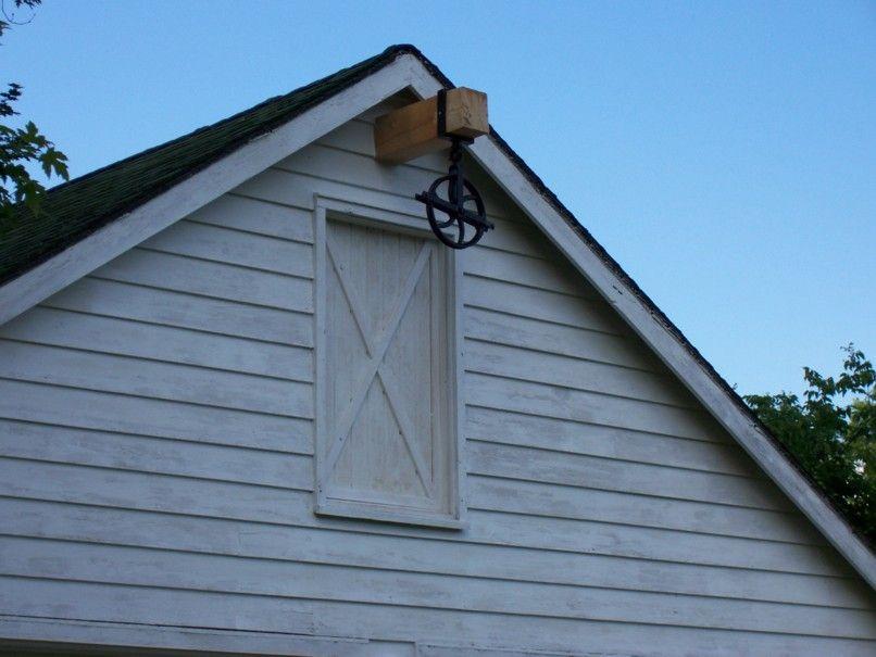 Pulley At Hay Loft Door Hassman Loft Door Barn Garage