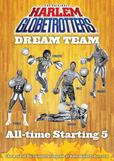 All Time Harlem Globetrotters Dream Team Announced Harlem