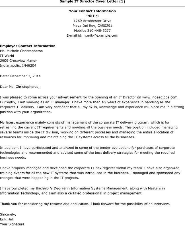 Opening Statement For Cover Letter The Sle