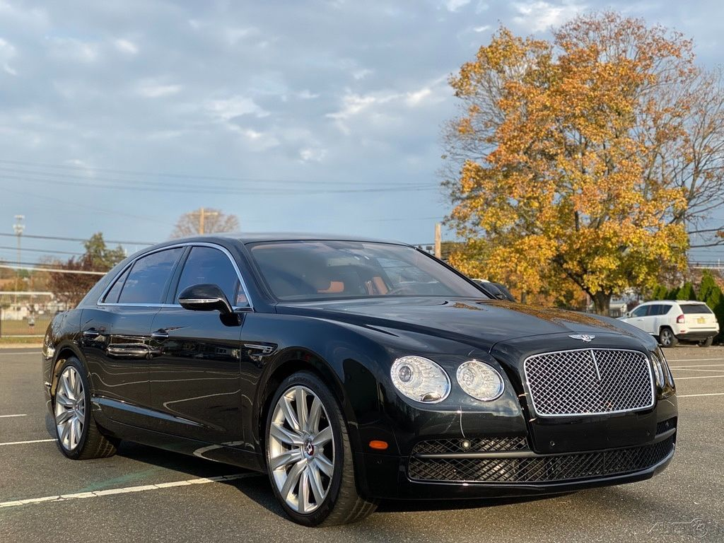 Salvage 2015 Bentley Flying Spur for Sale in New Jersey
