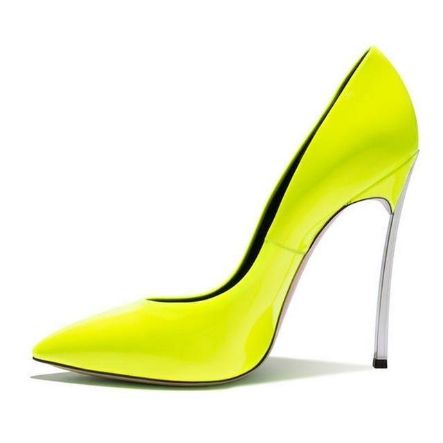 670939326cf6 2017 Brand Shoes Woman High Heels Women Pumps Stiletto Thin Heel Women s  Shoes Pointed Toe High Heels Wedding Shoes size 35-42
