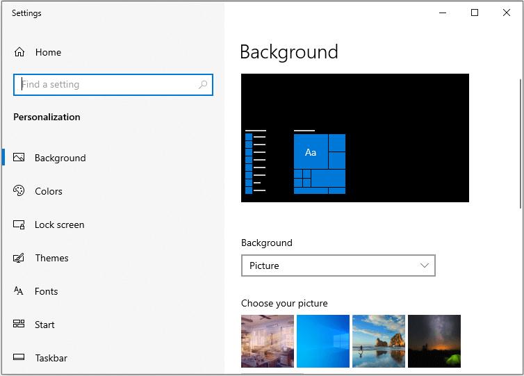 Method To Change Windows 10 Background While Charging Windows 10 Background Windows 10 Windows 10 Desktop Backgrounds